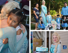 Princess Special Guests: Let Our Princesses Drop Off A Birthday Gift!