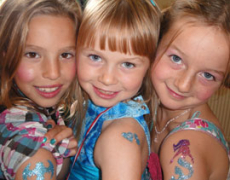 Princess Parties: Now With Glitter Tattoos!