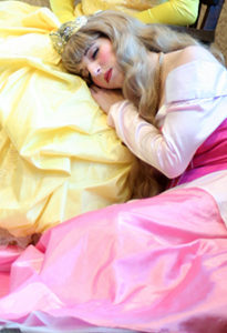 highlights princess party perfect_sleeping
