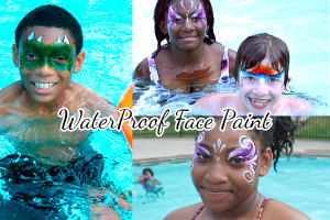 waterproof face paint photo